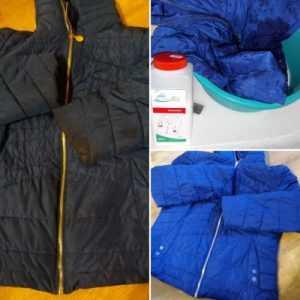 Чим відіпрати жирні плями на курточці