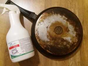 Чем очистить сковороду от пригорелого жира? Отзыв нашего покупателя.