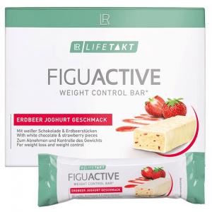 LR Lifetakt Figu Active Батончик для контроля веса с клубнично-йогуртовым вкусом 6 Х 60 грамм