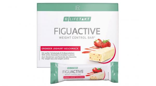 LR Lifetakt Figu Active Батончик для контролю ваги з полунично-йогуртовим смаком. Набір з 6 шт.