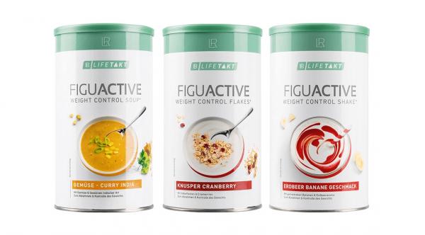 Дієтичне харчування LR Lifetakt Figu Active Набір з 3-х штук (суп / коктейль на вибір)