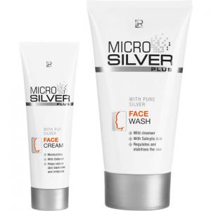 LR MICROSILVER PLUS Набор для чувствительной и проблемной кожи