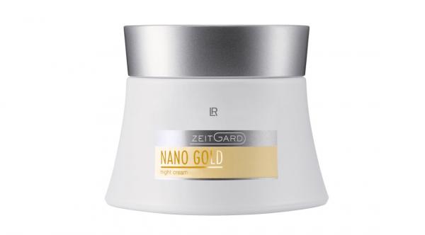 Нічний крем для обличчя Zeitgard NanoGold від LR