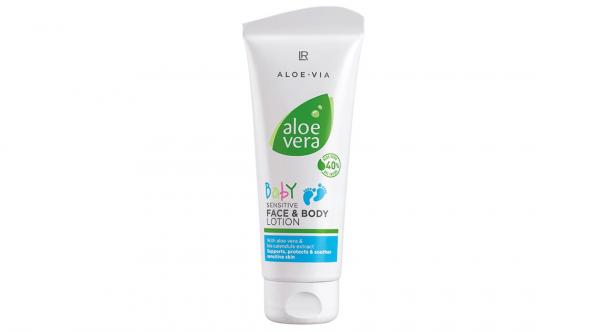 LR Aloe Vera Baby 40% Ніжний лосьйон для обличчя і тіла, 100 мл (Німеччина, LR)