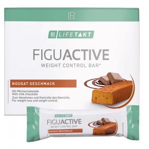 LR Lifetakt Figu Active Батончик для контроля веса со вкусом нуги 6 Х 60 грамм