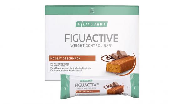 LR Lifetakt Figu Active Батончик для контроля веса со вкусом нуги. Набор из 6 шт.