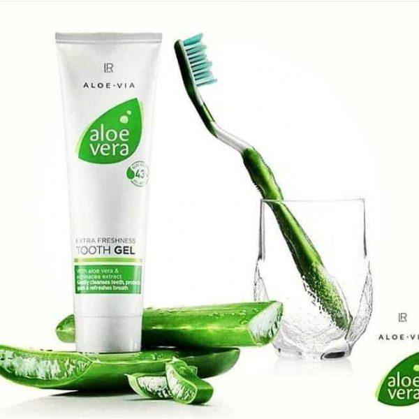 Зубна паста-гель Алое Віра 43% від LR Aloe Via, Німеччина. Без фтору. Для дітей і дорослих