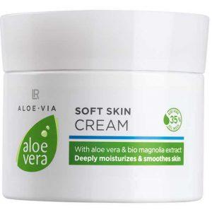 Aloe Vera 35% Нежный крем-уход для лица и тела, 100 мл от LR, Германия