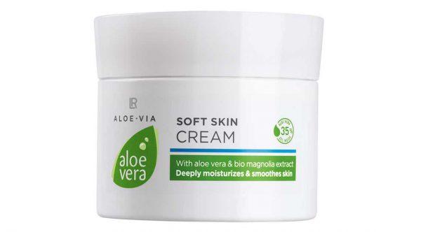 Aloe Vera 35% Ніжний крем-догляд для обличчя і тіла, 100 мл від LR, Німеччина