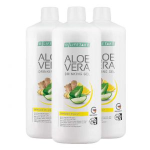 Алоэ Вера 85% питьевой гель Иммун Плюс. Набор из 3 шт. (Германия, LR)