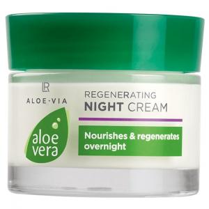 Aloe Vera 50% Регенеруючий нічний крем, 50 мл (Німеччина, LR)