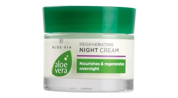 Aloe Vera 50% Регенерирующий ночной крем, 50 мл (Германия, LR)