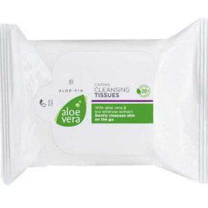 Aloe Vera 30% Мягкие очищающие салфетки, 25 штук от LR, Германия