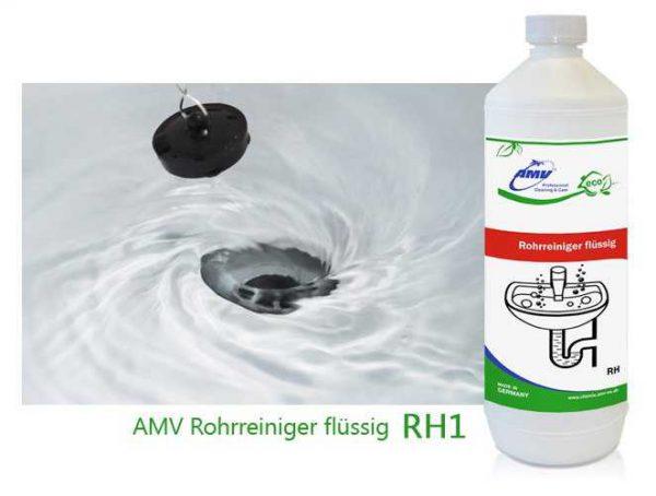 Жидкое средство для прочистки труб, 1 л (AMV, Германия)