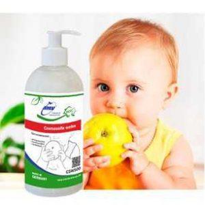 Белое жидкое мыло без запаха для мытья фруктов, овощей и ягод - 500 мл
