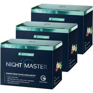 LR Lifetakt Найт Мастер Порошковый напиток для качественного сна. Набор 3 упаковки (90 стиков)