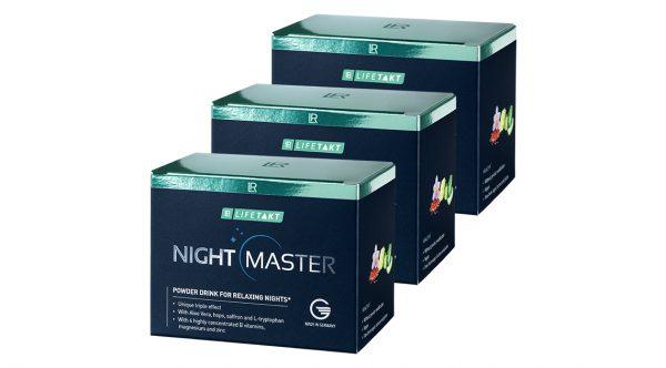 LR Lifetakt Найт Майстер порошковий напій для якісного сну. Набір 3 упаковки (90 стіків)