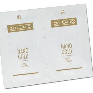 Подвійний тестер по догляду за шкірою обличчя Zeitgard Nanogold від LR