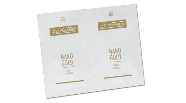 Двойной тестер по уходу за кожей лица Zeitgard Nanogold от LR