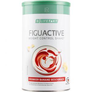 LR Lifetakt Figu Active Диетический коктейль с клубнично-банановым вкусом для контроля массы тела. 500 грамм (16 порций)