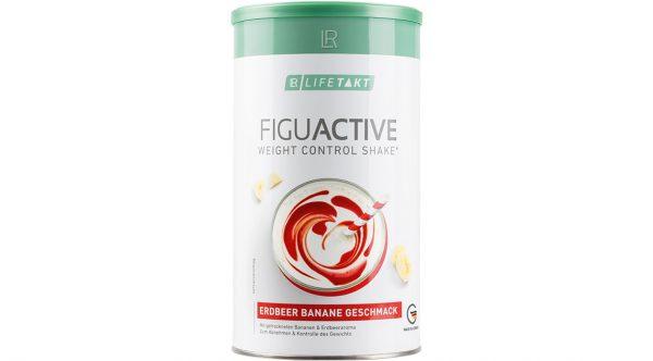 LR Lifetakt Figu Active Дієтичний коктейль з полунично-банановим смаком для контролю маси тіла. 500 грам (16 порцій)