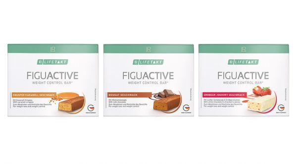 LR Lifetakt Figu Active Дієтичні батончики зі смаком хрусткої карамелі для контролю ваги. 6 штук.