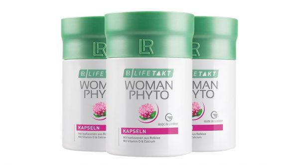 Вуман Фито витамины для женщин. Набор из 3-х шт от LR Lifetakt, Германия