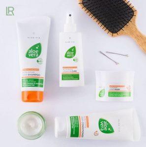 Довідник серії Відновлюючий догляд для волосся Aloe Via від LR Aloe Vera (Німеччина)