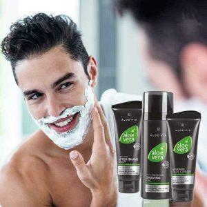 Серія Aloe Via Aloe Vera для гоління без подразнення від LR, Німеччина