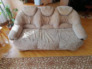 Отзыв заказчика. Химчистка дивана от AMVSHOP.
