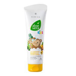 Aloe Vera Kids Шампунь-кондиционер для волос и тела, 250 мл. LR, Германия